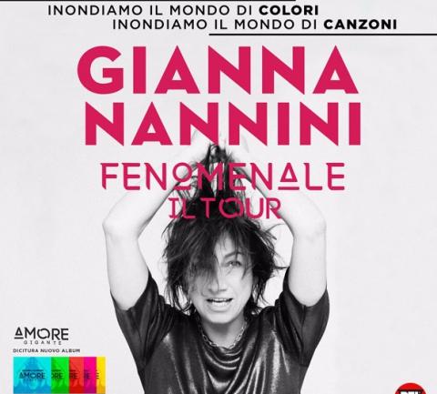 Gianna Nannini - Fenomenale Il Tour 2018 - Conegliano